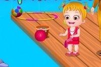 Baby Hazel w Delfinarium