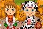 Bliźniacy w Halloween