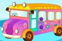 Dekorowanie autobusu szkolnego