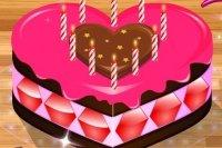 Dekorowanie tortu miłości