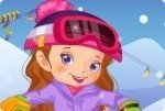 Dziewczynka na Snowboardzie