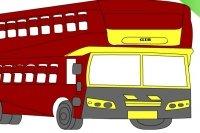 Kolorowanie autobusu