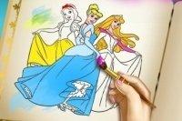 Kolorowanka z Księżniczkami