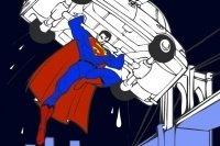 Kolorowanka z Supermanem