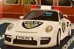 Parkowanie Samochodu Policyjnego