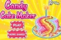 Pieczenie Ciasta ze Słodyczami