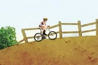 Przygoda na rowerze górskim