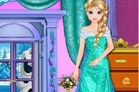 Sprzątanie zamku Elzy