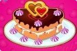 Tort na Walentynki