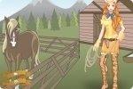 Ubieranie kowbojki