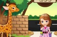 Pierwsza przygoda Sofii w zoo